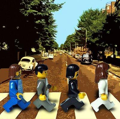 Los Beatles, LEGO y Abbey Road